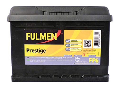 Fulmen Prestige Batterie Auto 540A 60Ah