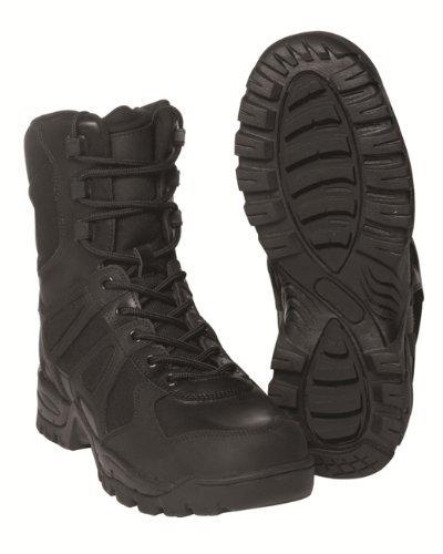Mil-Tec - Botas para hombre negro negro