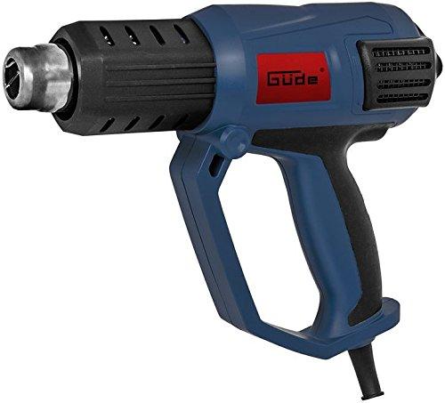 Preisvergleich Produktbild GÜDE Heißluftgebläse HLG 650-2000 LCD 58121 Heissluftpistole 2000 W. 650°C LCD NEU