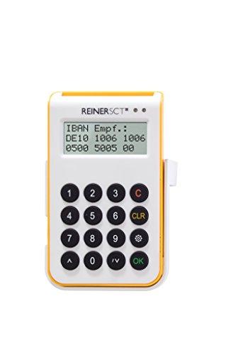 REINERSCT cyberJack one Chipkartenleser und TAN-Generator Fuer sicheres Online-Banking mit Bluetooth und USB-Funktion