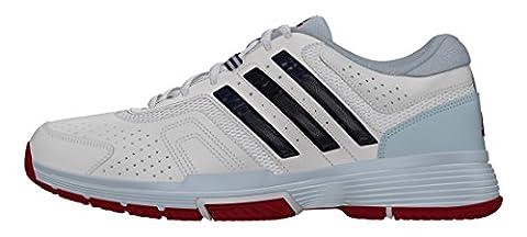 adidas Barricade Court 2, Women's Tennis Shoes, White (Ftwr White/collegiate Navy/ice Blue), 7 UK (40 2/3 EU)