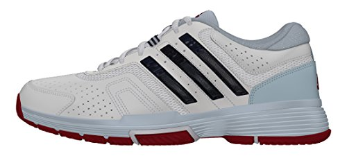 adidas Damen Barricade Court 2 W Tennisschuhe, Blanco (Ftwbla / Maruni / Azuhie), 36 EU