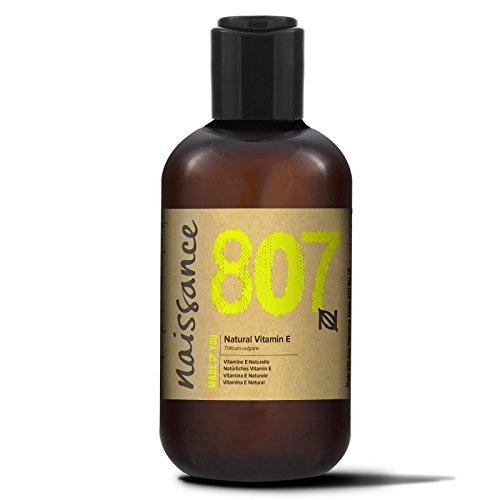 Naissance Natürliches Vitamin E Öl - Tocopherol 250ml 100% rein (Tocopherol Vitamin E-acetat)