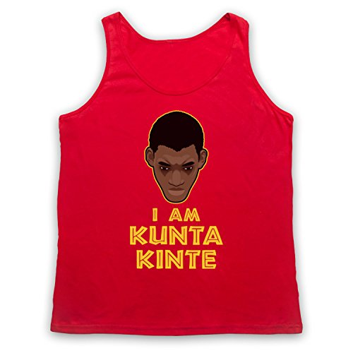 Roots I Am Kunta Kinte Tank-Top Weste Rot
