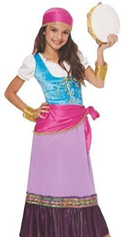 Costumes Gypsy Girl - Pretty Gypsy Girl's Costume - Large (12-14)