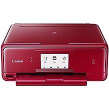 Canon PIXMA TS8052 Inyección de tinta A4 Wifi Negro - Impresora multifunción (Inyección de tinta, 2400 x 4800 DPI, A4, 216 x 297 mm, Color, Cama plana)