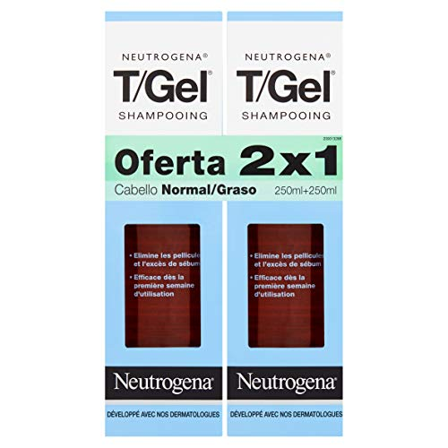 Neutrogena T/Gel Champú Cabello Normal Y Graso -