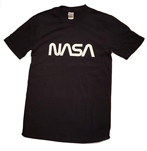 Logotipo de gusano NASA con licencia Camiseta para hombre Premium (Impresión de...