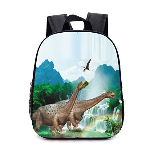 Onlyoustyle Rucksack für Schüler Mode 3D Dinosaurier Bedrucktes Sport und Outdoor Reiserucksack Daypacks für Wandern Camping Casual Rucksäcke Schulrucksack für Jungen und Mädchen