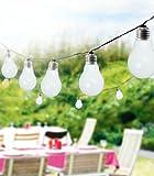 Party-Lichterkette, 8m, warm-weiß