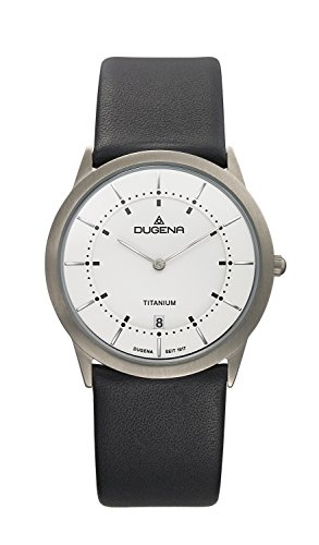 Dugena Design Gents Watch Quartz Watch With Leather Strap  4460336