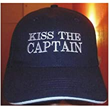 264b883512294 delmarn autical Captains Cap  Nauticalia ancla Anchor Kiss the capatain  Yacht segeln motorboot Boating Sailing