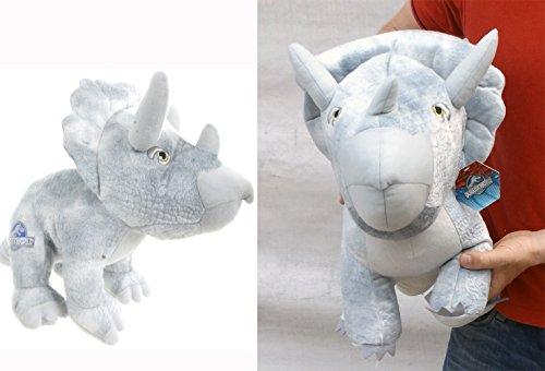 Brigamo 24015 - Jurassic World© Triceratops Plüsch DINOSAURIER IN XL GRÖßE! thumbnail