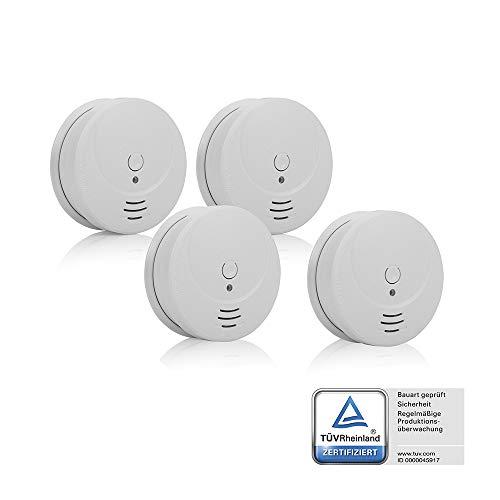 Detectores humo Smartwares RM149/4 - Pack 4 detectores