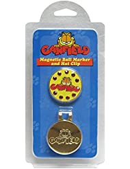 WINNING EDGE GARFIELD HAT OR CAP CLIP WITH MAGNETIC GOLF BALL MARKER.