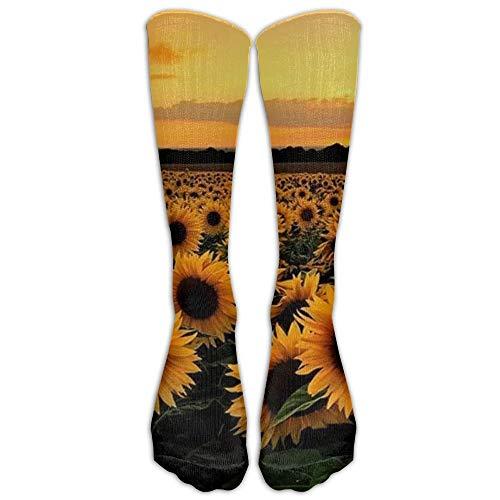 Nicegift New Fabric USA Colorado State Skyline Flag Knee High Graduated Compression Socks For Women Men - Travel & Flight Socks - Running & Fitness 50cm -