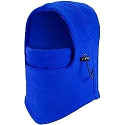 Antivento Balaclava - caldo di spessore Balaclava / Pile Sport Equitazione Maschera / regolabile cappello anti-freddo per le attività esterne,Blu