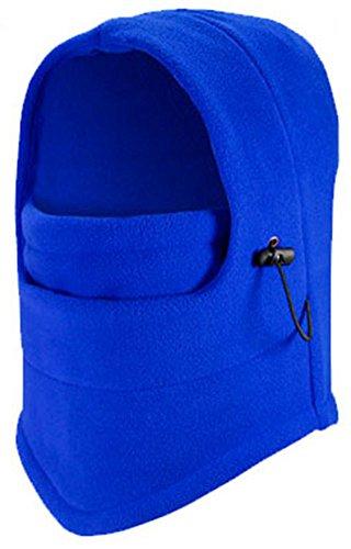 Antivento Balaclava - caldo di spessore Balaclava / Pile Sport Equitazione Maschera / regolabile cappello (Cappello Di Inverno Guanti)