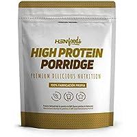 Gachas de Avena Proteicas de HSN Foods | Porridge Proteico Apto para la Dieta Vegetariana | Fácil y Rápido de.