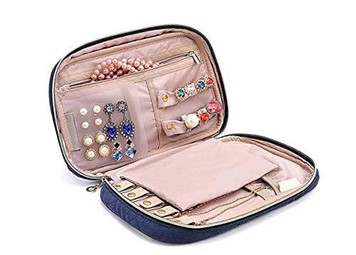 WODISON equipaje de caja de la joyería del...
