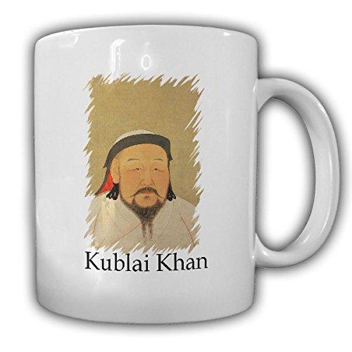 Kublai Khan China Kaiser Yuan Dynastie Chinesisch 1215 Antike Buddhismus Tibet Mongolischer Herrscher Dschingis Khan Möngke Khan- Tasse Kaffee Becher #16707 (Mongolische Antik)