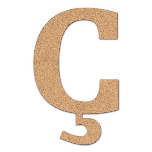 Canevas pour enfant Loisirs créatifs - Lettre en bois 10 cm ç