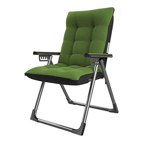FEIFEI Fauteuils inclinables Chaise pliante d'étudiant de loisirs Chaise d'étudiant dortoir de chambre à coucher moderne simple Chaise longue inclinable Pliant (Couleur : A)