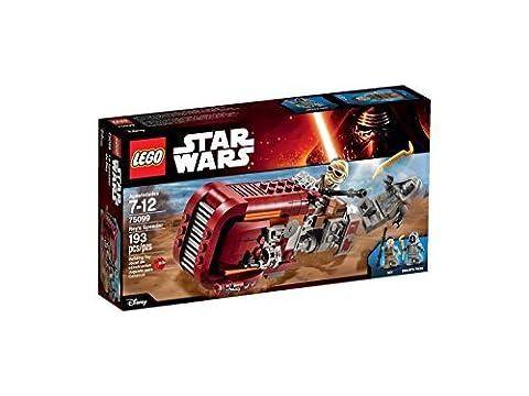 LEGO Star Wars Rey's Speeder 75099 Building Kit (Pack of 2) by LEGO