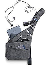 NIID-Fino Classic Sling Shoulder Crossbody Chest Bag Slim Backpack Multiuso Daypack