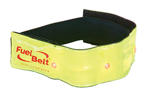 FuelBelt 0873855003973 - Brazalete de running con luz LED, color amarillo
