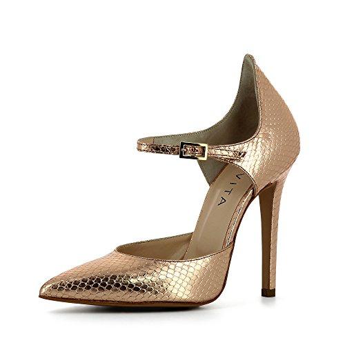 Evita Shoes Lisa, Scarpe col tacco donna rosa antico
