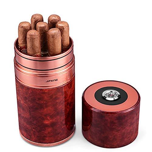 Metall-luftbefeuchter (Lxc Zigarre Rohr Reise Tragbare Feuchtigkeitscreme 7 Sticks Metall Zigarettenetui Luftbefeuchter Kubanische Zigarre Feuchtigkeitsrohr)