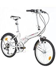 Klapprad Fahrrad Bikesport FOLDING 20 Zoll Shimano 6 GANG
