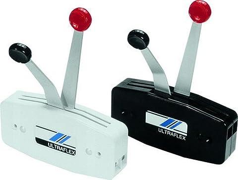 Uflex B49 Dual Lever Single Function Side Mount Control Box by Uflex