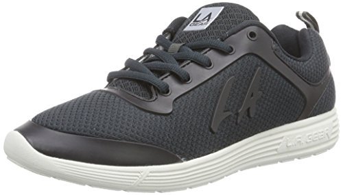 L.A. Gear D-Light, Low-Top Sneaker donna, Grigio (Grau (Dk Grey 02)), 40
