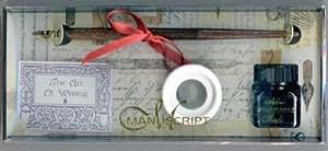 Manuscript - Stylo - Encrier - Calligraphie - Coffret cadeau