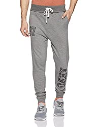 Aeropostale Mens Slim Fit Sweatpants (AE1001537053_Med HTHR Grey_36)