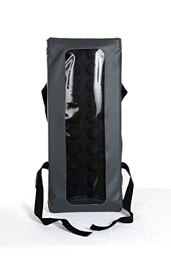 BackRack® Lumbar car seat support cushion - Unique and patented technology.
