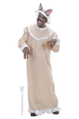 Widmann WDM – Kostüm Oma Wolf, Beige, Größe ()