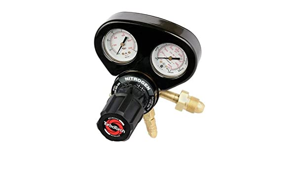 TurboTorch 0386-0857 DP250-800-580 Nitrogen Purge Regulator 800 PSIG