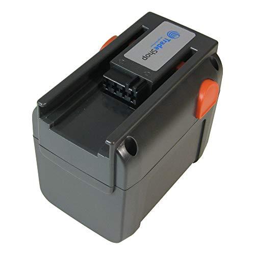 Trade-Shop Premium Li-Ion Ersatz Akku 18V / 4000mAh für Gardena Rasentrimmer AccuCut 400 Li 8840-20, Turbotrimmer AccuCut 400 Li 8840, AccuCut 450 Li (8841), AccuCut 18-Li, AccuJet 9333-20 8865