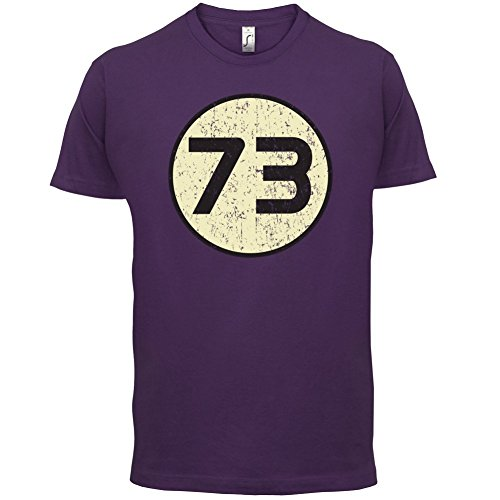 73 Logo - Herren T-Shirt - 13 Farben Lila