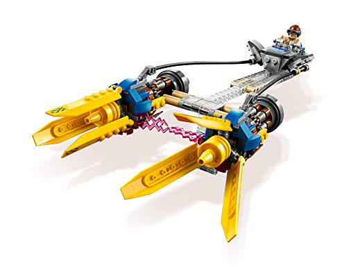 LEGOStarWars 75258 Die dunkle Bedrohung Anakin's Podracer- 20Jahre LEGOStarWars, Bauset