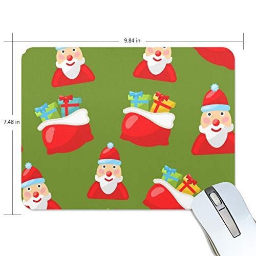 Basics Gaming Mauspad Santa Claus Weihnachtsgeschenk Mauspad Gaming Mauspad Computer Tastatur Mauspad 23,84 x 7,84 x 0,2 in