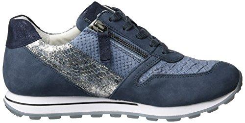 Gabor Damen Comfort Sneakers Blau (avio kombi 39)