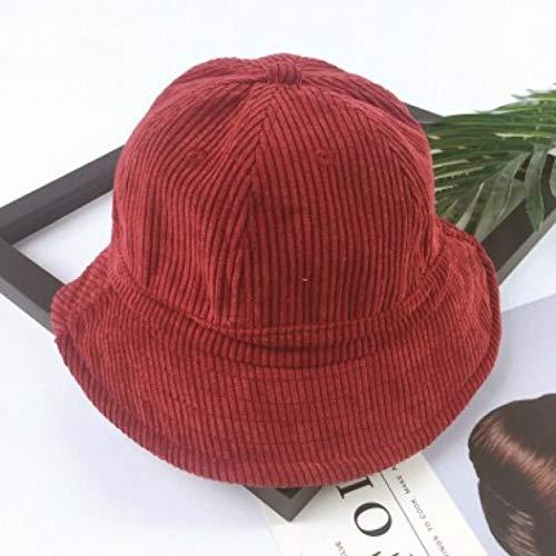AROVON Hut Solide Kinder Sonnenhut Herbst Herbst Baumwolle Mädchen und Jungen Strand Eimer Sommer Hüte für Kinder