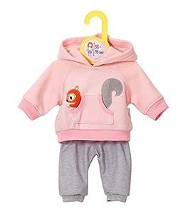 Zapf Creation 870044 - Dolly Moda Sport-Outfit, 38-46 cm, rosa