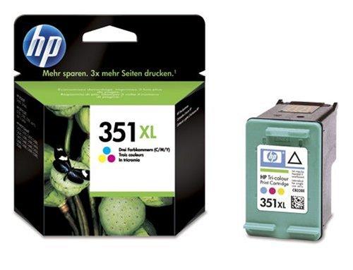 HP 351XL dreifarbig Original Tintenpatrone mit hoher Reichweite