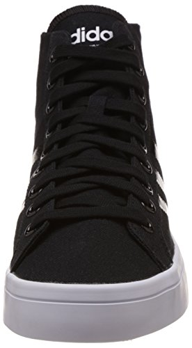 Adidas Courtvantage Mid Hommes Trainers Black White