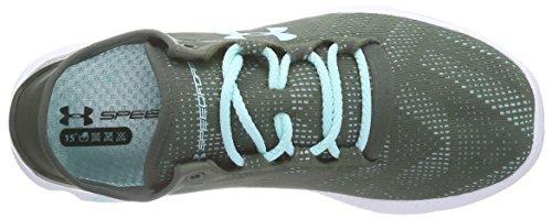 Under Armour Ua W Speedform Apollo Vent, Chaussures de course pour compétition femme Grün (DTG 330)